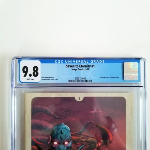 Seven to Eternity #1 CGC 9.8 NM/M Front Label
