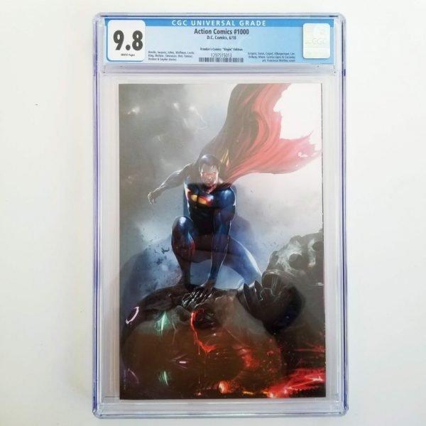 Action Comics #1000 Mattina Virgin Variant CGC 9.8 NM/M Front