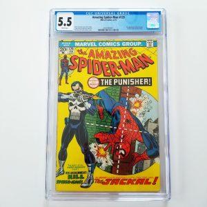 Amazing Spider-Man #129 CGC 5.5 FN- Front