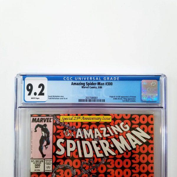 Amazing Spider-Man #300 CGC 9.2 NM- Front Label