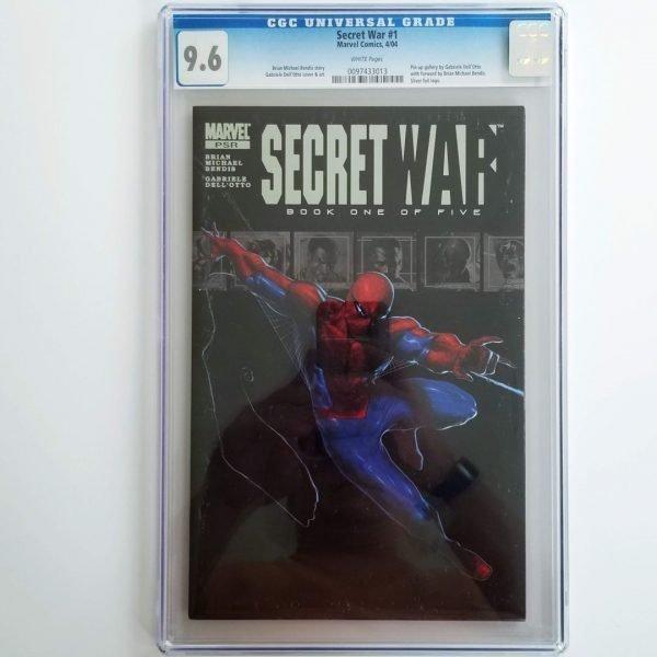 Secret War (2004) #1 CGC 9.6 Front