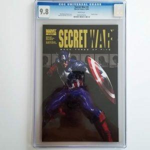 Secret War (2004) #3 CGC 9.8 Front