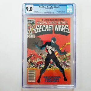 Secret Wars #8 CGC 9.0 VF/NM Front