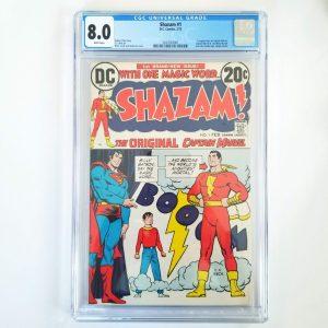 Shazam #1 CGC 8.5 VF Front