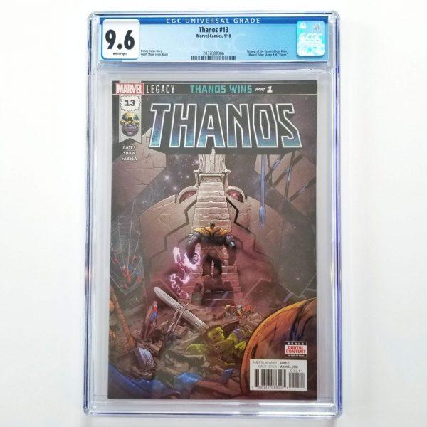 Thanos #13 CGC 9.6 NM+ Front