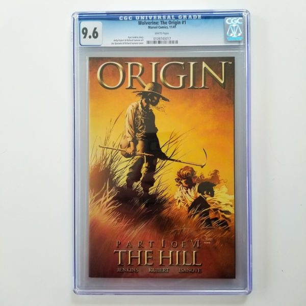 Wolverine: The Origin #1 CGC 9.6 NM+ Front