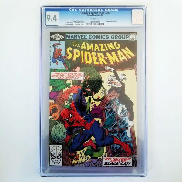 Amazing Spider-Man #204 CGC 9.4 Front