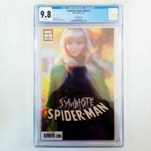 Symbiote Spider-Man #1 CGC 9.8 Front