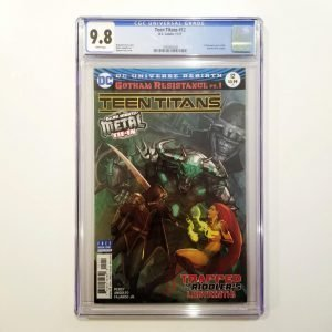 Teen Titans #12 CGC 9.8 Front