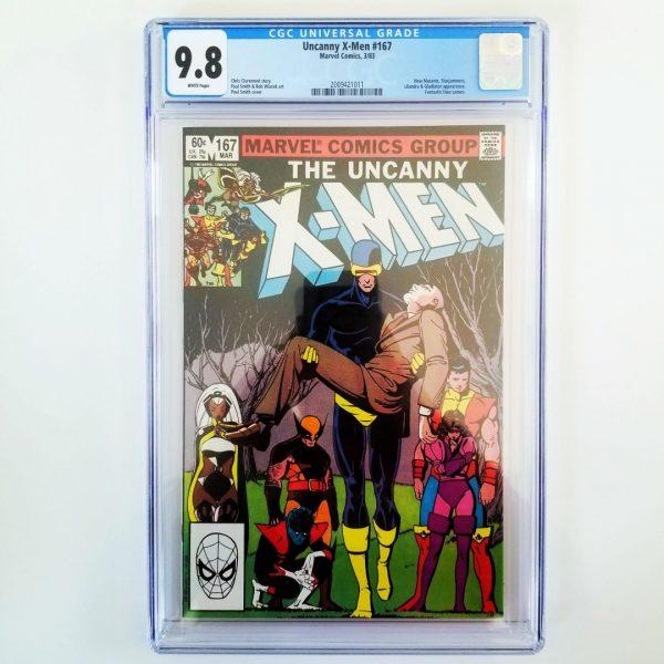 Uncanny X-Men #167 CGC 9.8 Front