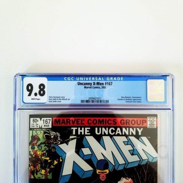 Uncanny X-Men #167 CGC 9.8 Front Label