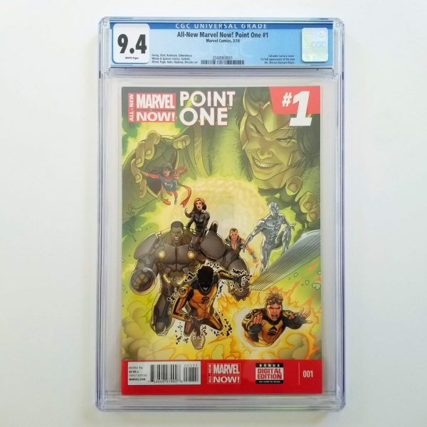 All-New Marvel Now: Point One #1 CGC 9.4 NM Front