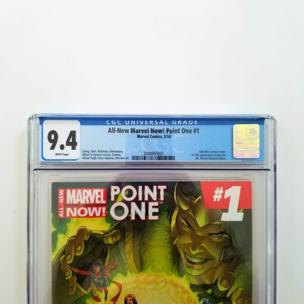 All-New Marvel Now: Point One #1 CGC 9.4 NM Front Label