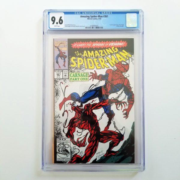 Amazing Spider-Man CGC 9.6 NM+ Front