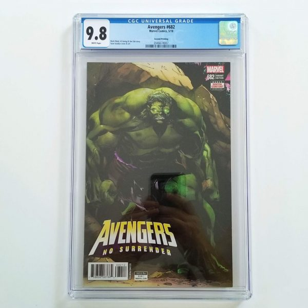 Avengers #682 CGC 9.8 NM/M 2nd Print Variant Front