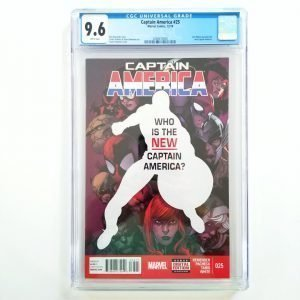 Captain America (Vol. 7) #25 CGC 9.6 NM+ Front