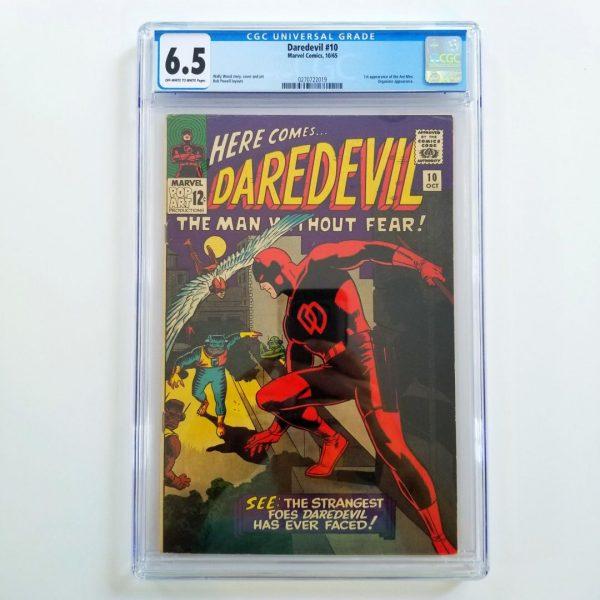 Daredevil #10 CGC 6.5 VF+ Front