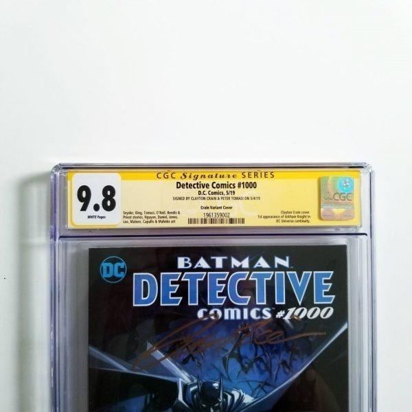 Detective Comics Crain Variant CGC SS 9.8 NM/M Front Label