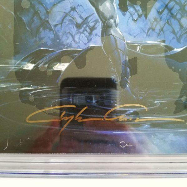 Detective Comics Crain Variant CGC SS 9.8 NM/M Crain Signature