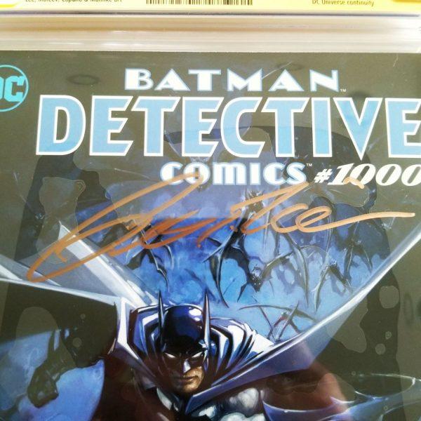 Detective Comics Crain Variant CGC SS 9.8 NM/M Tomasi Signature