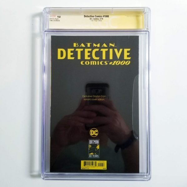 Detective Comics Crain Variant CGC SS 9.8 NM/M Back