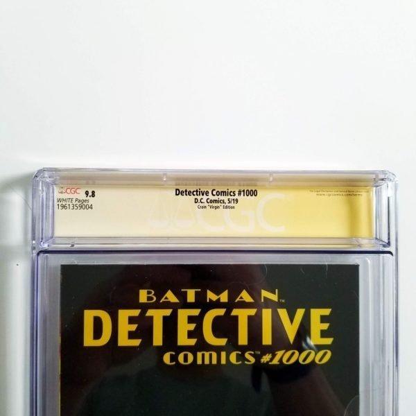 Detective Comics Crain Variant CGC SS 9.8 NM/M Back Label