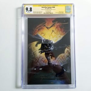 Detective Comics Crain Virgin Variant CGC SS 9.8 NM/M Front