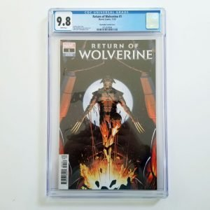 Return of Wolverine #1 CGC 9.8 NM/M Christopher Variant Front