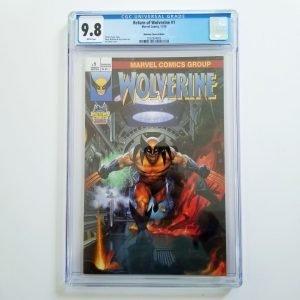 Return of Wolverine #1 CGC 9.8 NM/M Midtown Comics Variant Front