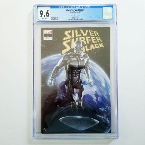 Silver Surfer: Black #1 CGC 9.6 Granov Variant Front