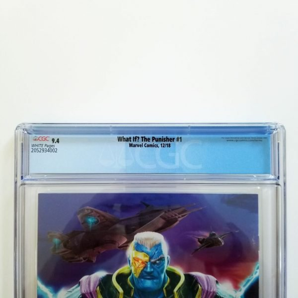 What If? The Punisher #1 CGC 9.4 NM Back Label