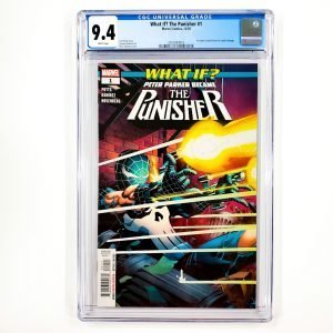 What If? The Punisher #1 CGC 9.4 NM Front