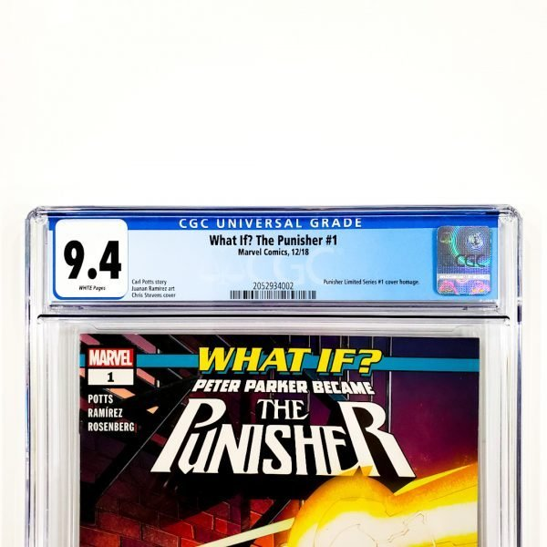 What If? The Punisher #1 CGC 9.4 NM Front Label