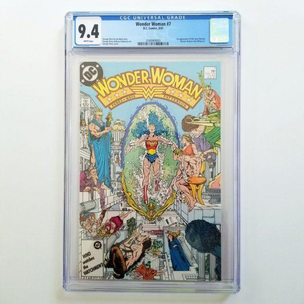 Wonder Woman #7 CGC 9.4 NM Front
