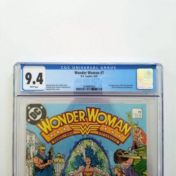 Wonder Woman #7 CGC 9.4 NM Front Label