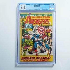 Avengers #100 CGC 9.8 NM/M Front