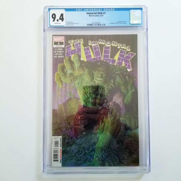 Immortal Hulk #1 CGC 9.4 NM Front
