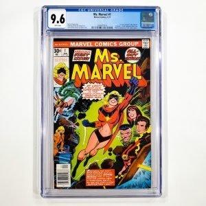 Ms. Marvel #1 CGC 9.6 NM+ Front