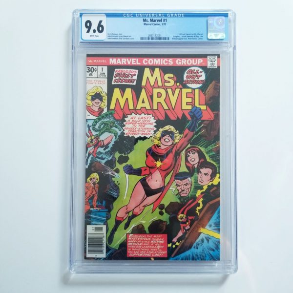 Ms. Marvel #1 CGC 9.6 NM+ Front