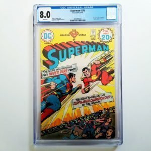 Superman #276 CGC 8.0 VF Front