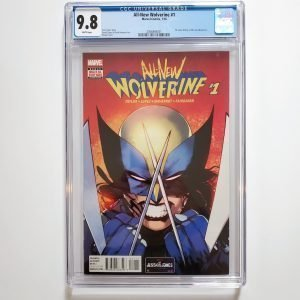 All-New Wolverine #1 CGC 9.8 NM/M Front
