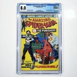 Amazing Spider-Man #129 CGC 8.0 VF Front