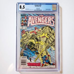 Avengers #257 CGC 8.5 Canadian Price Variant Front