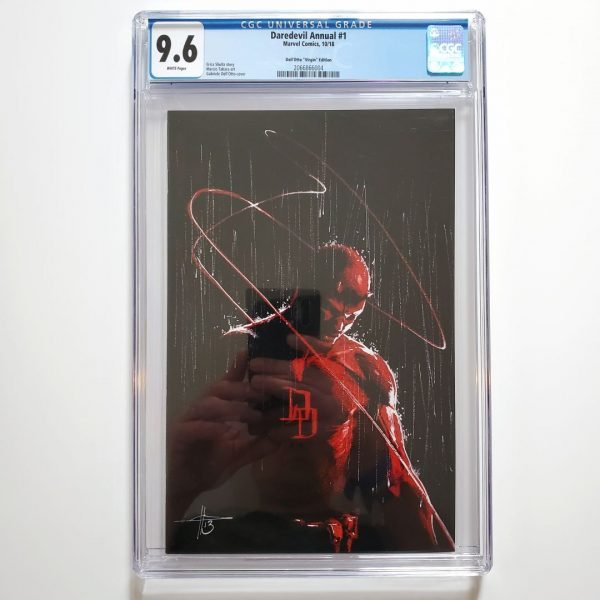 Daredevil Annual #1 CGC 9.6 Dell'Otto Virgin Variant Front