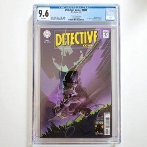 Detective Comics #1000 Steranko 1960's Variant CGC 9.6 Front