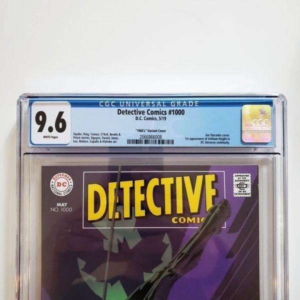 Detective Comics #1000 Steranko 1960's Variant CGC 9.6 Front Label