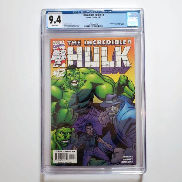 Incredible Hulk (Vol. 2) #12 CGC 9.4 NM Front