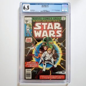 Star Wars (1977) #1 CGC 6.5 FN+ Front