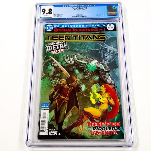 Teen Titans #12 CGC 9.8 NM/M Front