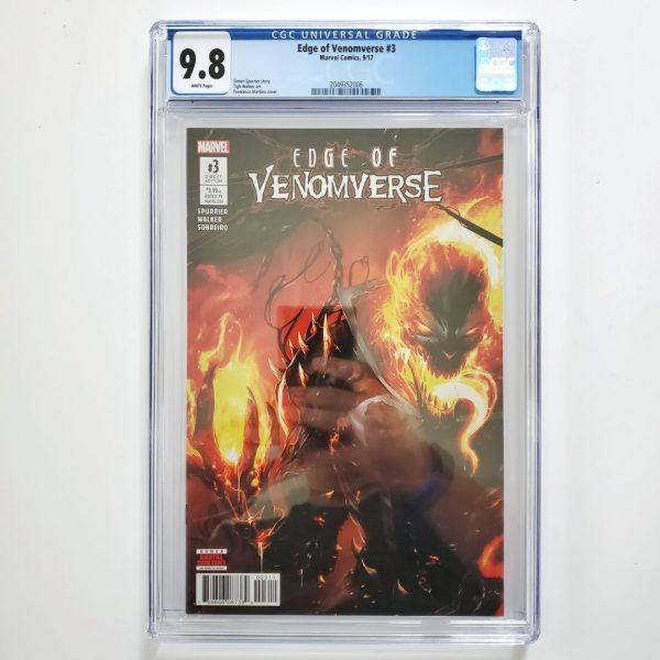 Edge of Venomverse #3 CGC 9.8 NM/M Front